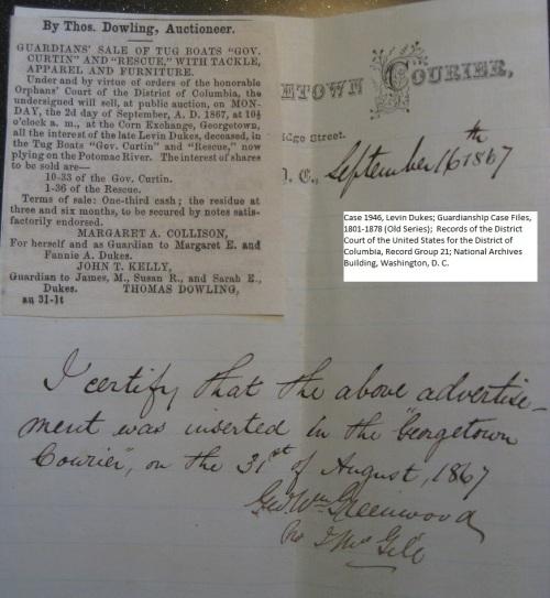 Georgetown_courier_receipt_case_1946