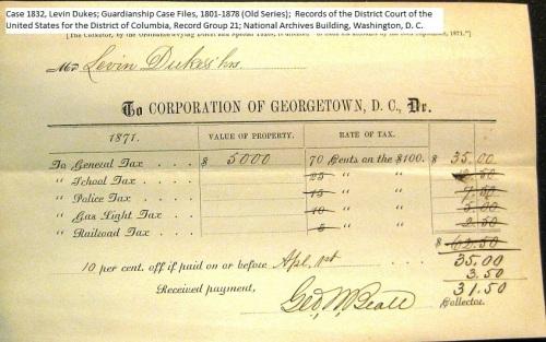 Georgetown_tax_receipt_case_1832