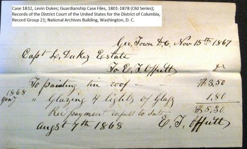Offutt_receipt_for_glass_glazing_case_1832