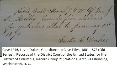 Receipt_for_quarters_sadie_dukes_case_1946