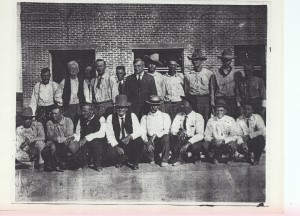 Hudspeth Co Officials 1917 Picture