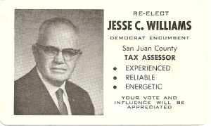 Jess Williams campaign literature