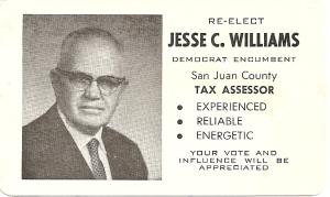 Jess Williams campaign literature