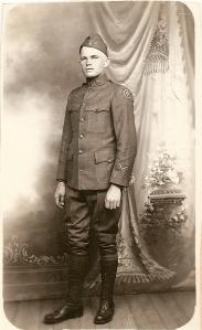 Jesse C Williams April 1919 discharge Ft Worth