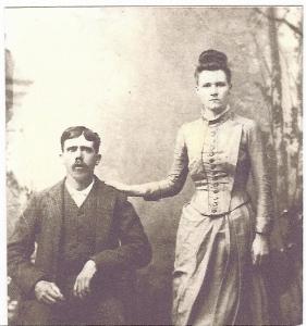 Jesse D and Ocie Ola married 14 November 1888