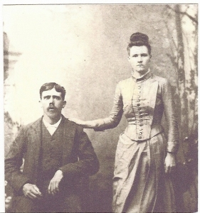 Jesse D and Ocie Ola married 14 November 1888